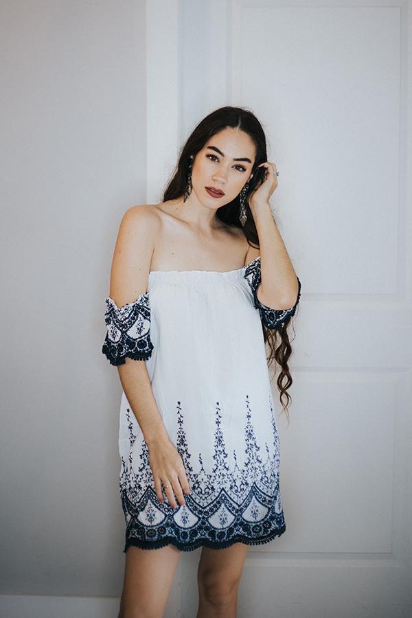 Image for LAYLA- OFF SHOULDER TUNIC/DRESS